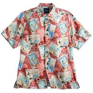 Disney Tommy Bahama Mickey & Friends Silk T Shirt